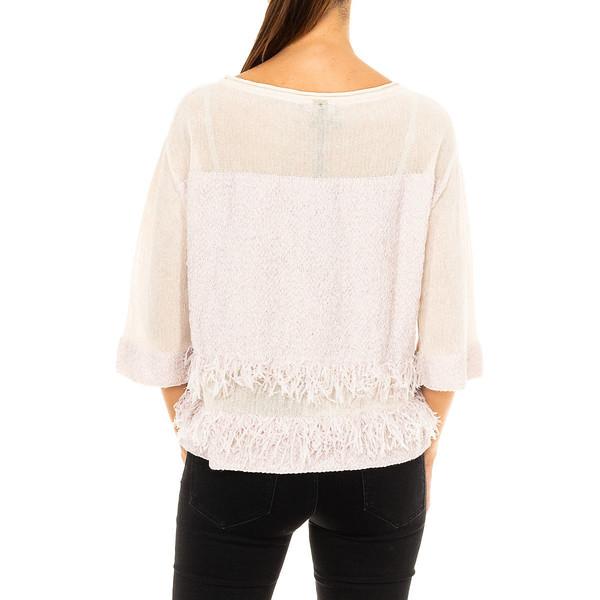 Camiseta mujer - crudo