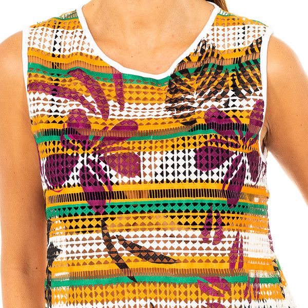 Camiseta mujer - multicolor