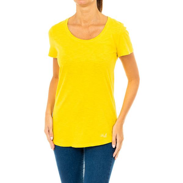 Camiseta mujer - amarillo