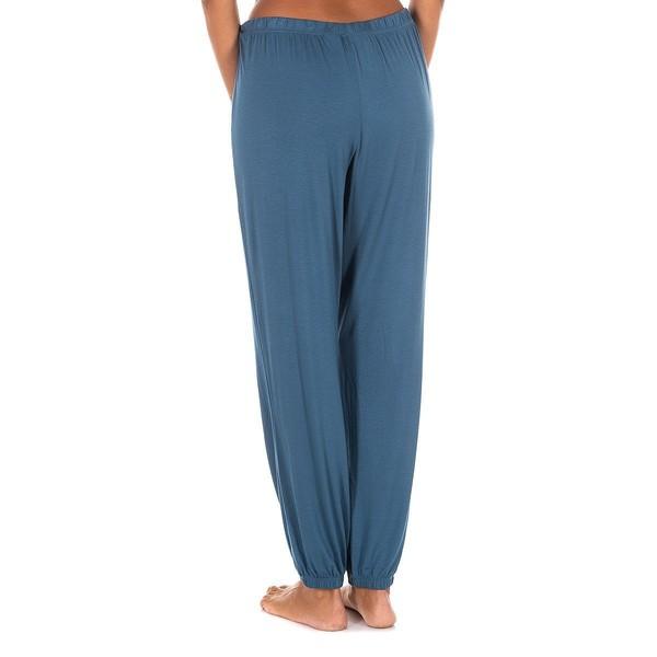 Pantalón largo mujer - azul
