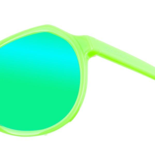 Gafa de sol unisex - lila y verde