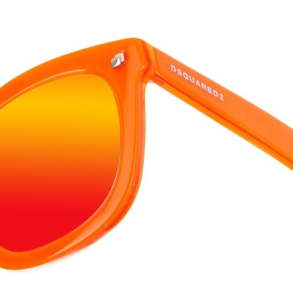 Gafa de sol unisex - gris y naranja