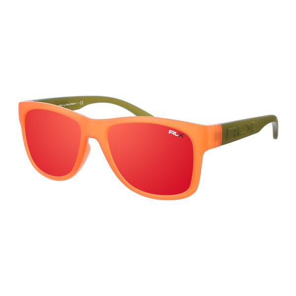 Gafa de sol unisex - verde y naranja