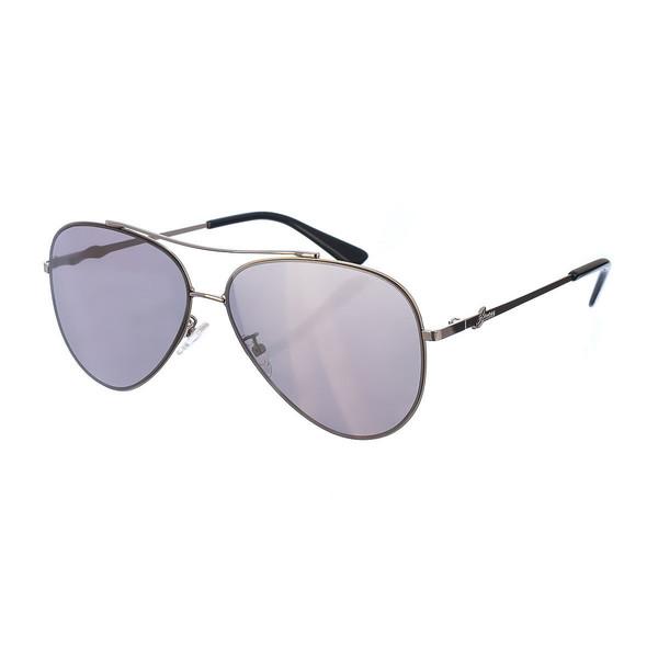 Gafas sol unisex - plateado/negro