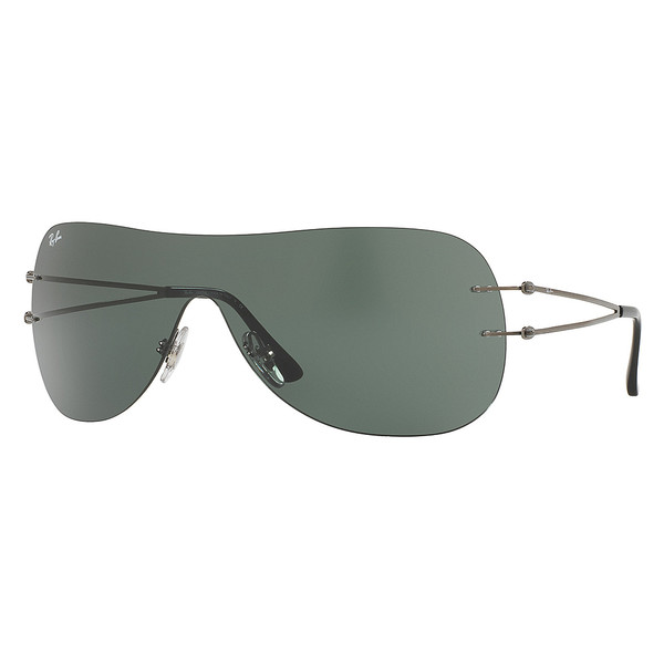 Gafas de sol metal unisex - gris