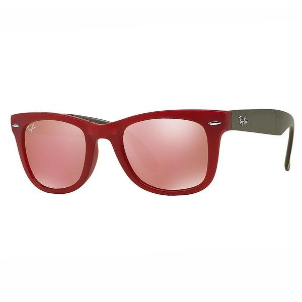 Gafas de sol mujer - verde/rojo