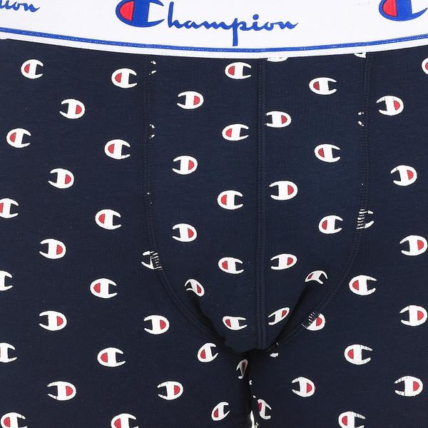 Boxers Champions MEN - Azul marino estampado