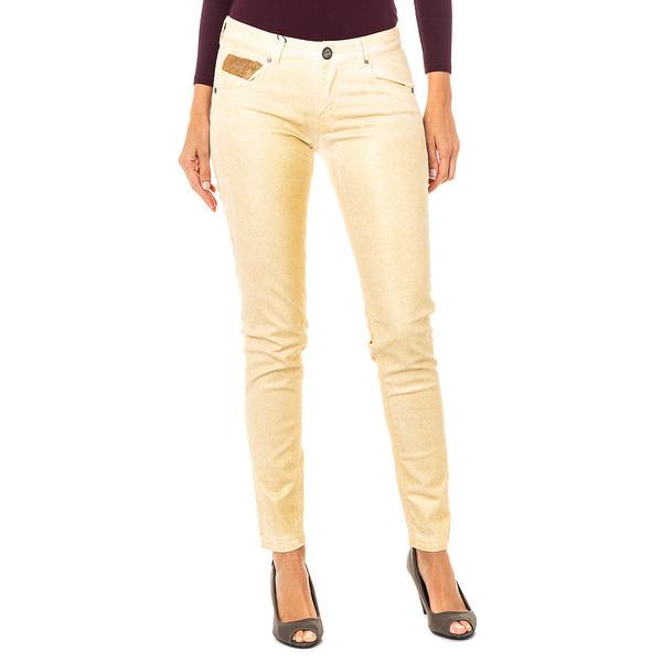 Pantalón mujer - dorado