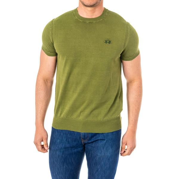 Camiseta m/corta hombre - verde
