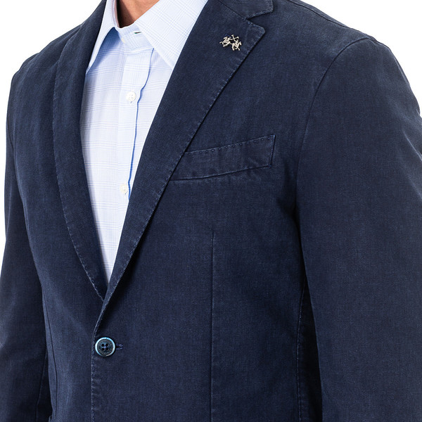 Americana hombre - azul marino