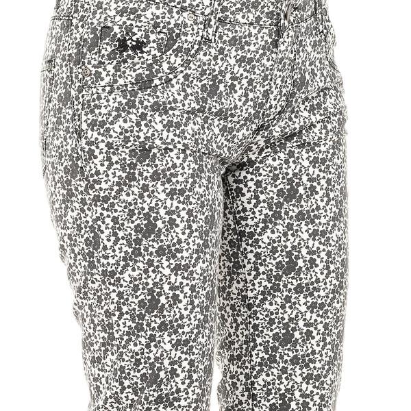 Pantalón mujer - negro/blanco
