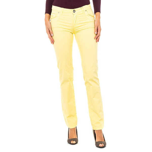Pantalón mujer - amarillo