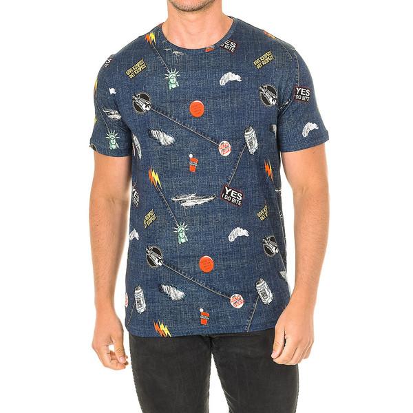 Camiseta de manga corta John Frank HOMBRE - Azul