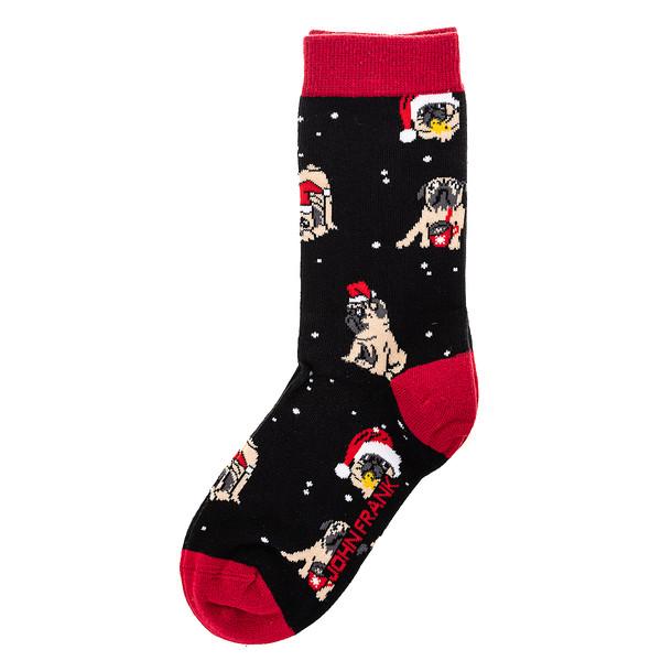 Calcetines mujer - negro/rojo