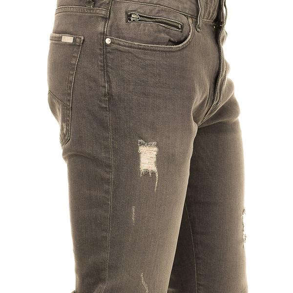 Pantalón tejano hombre - gris