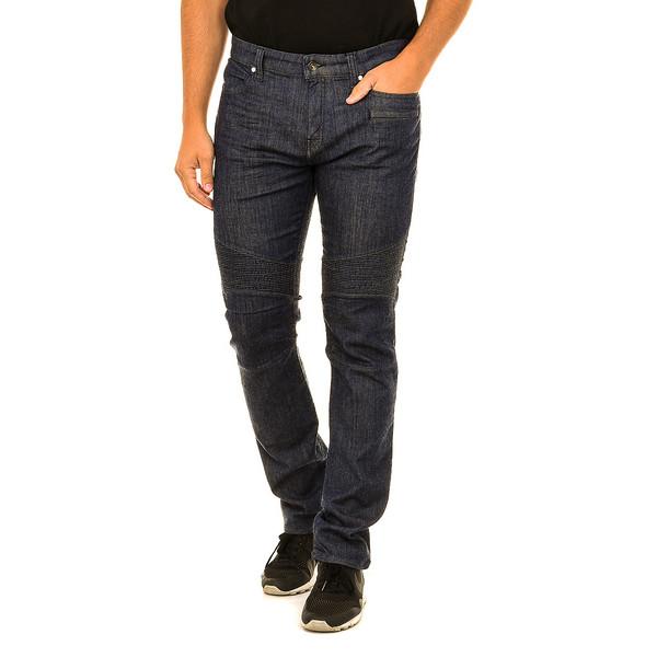 Pantalón tejano hombre - azul oscuro