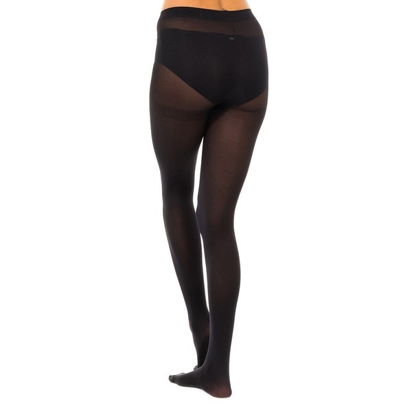 Pack-3 Panty Tupido M.Fibra 50D Mujer - Negro