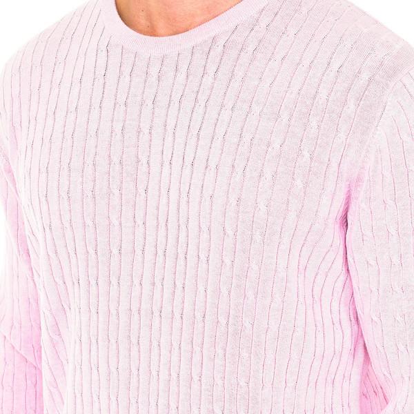Jersey m/larga hombre - rosa