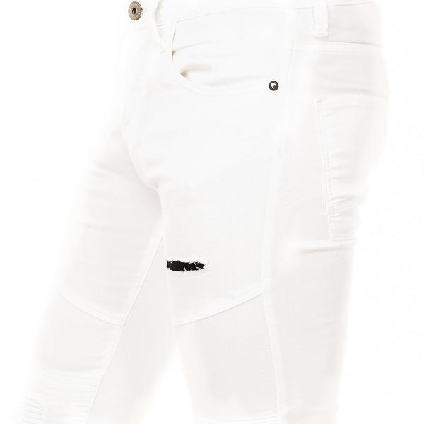 Pantalón hombre - blanco