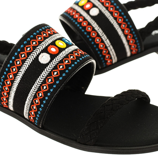 Sandalias mujer - negro