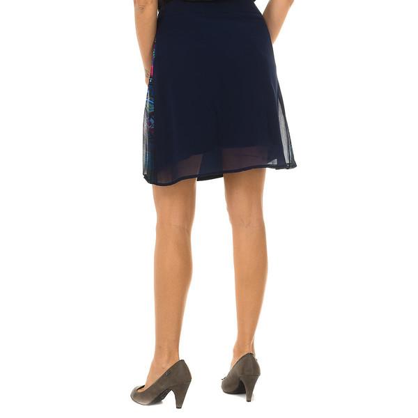 Falda Desigual WOMEN - Azul marino
