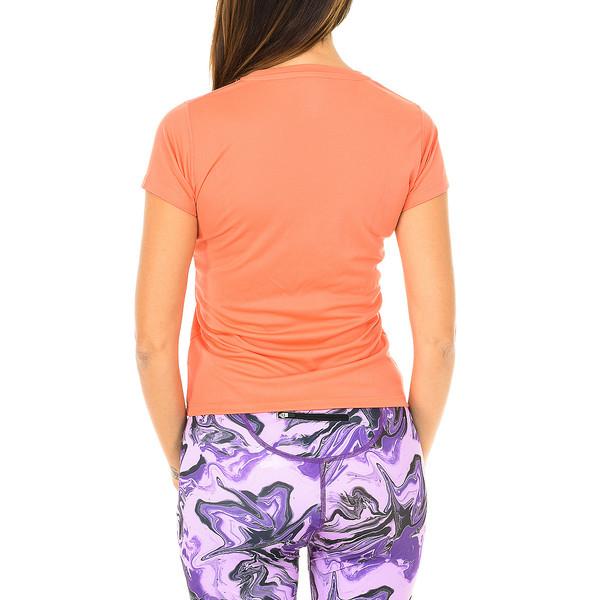 Camiseta técnica m/corta mujer - naranja