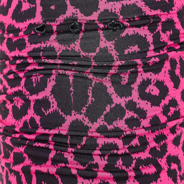 Bandana polar reversible mujer - rosa/negro