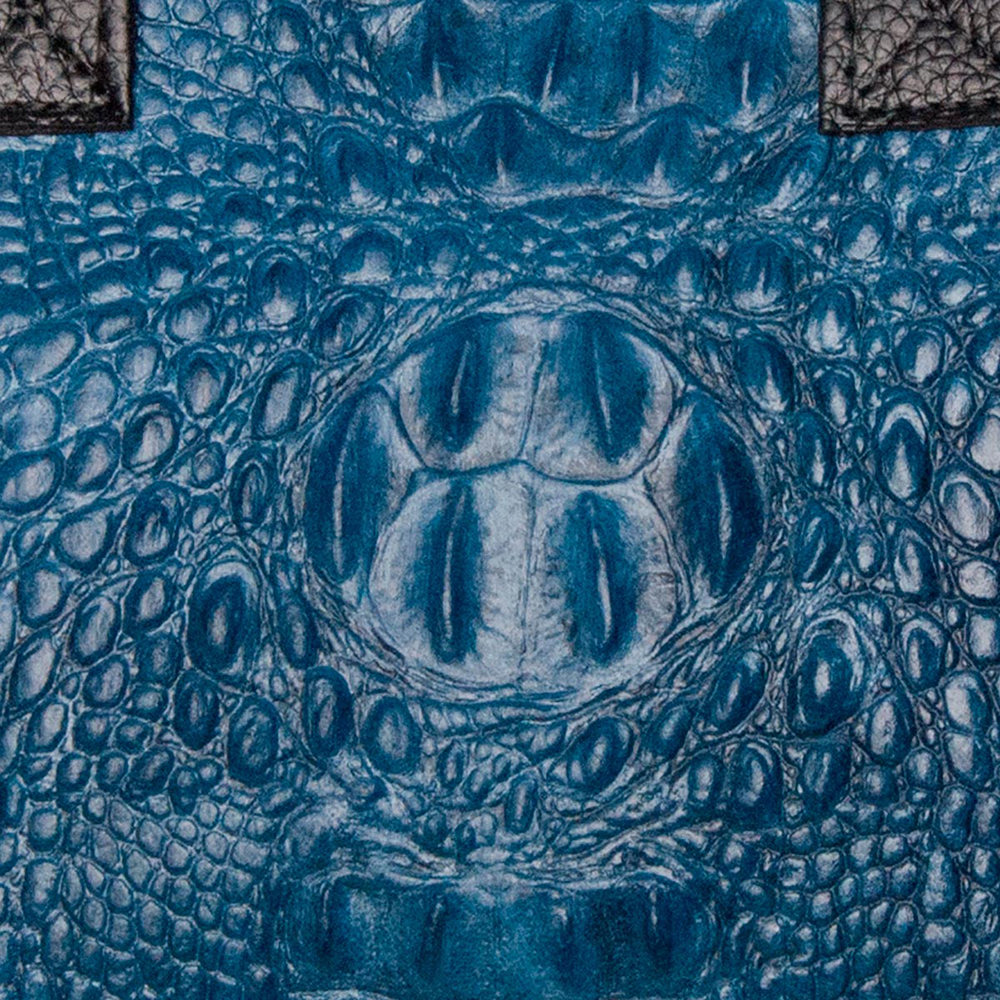 Bolso mujer piel - azul