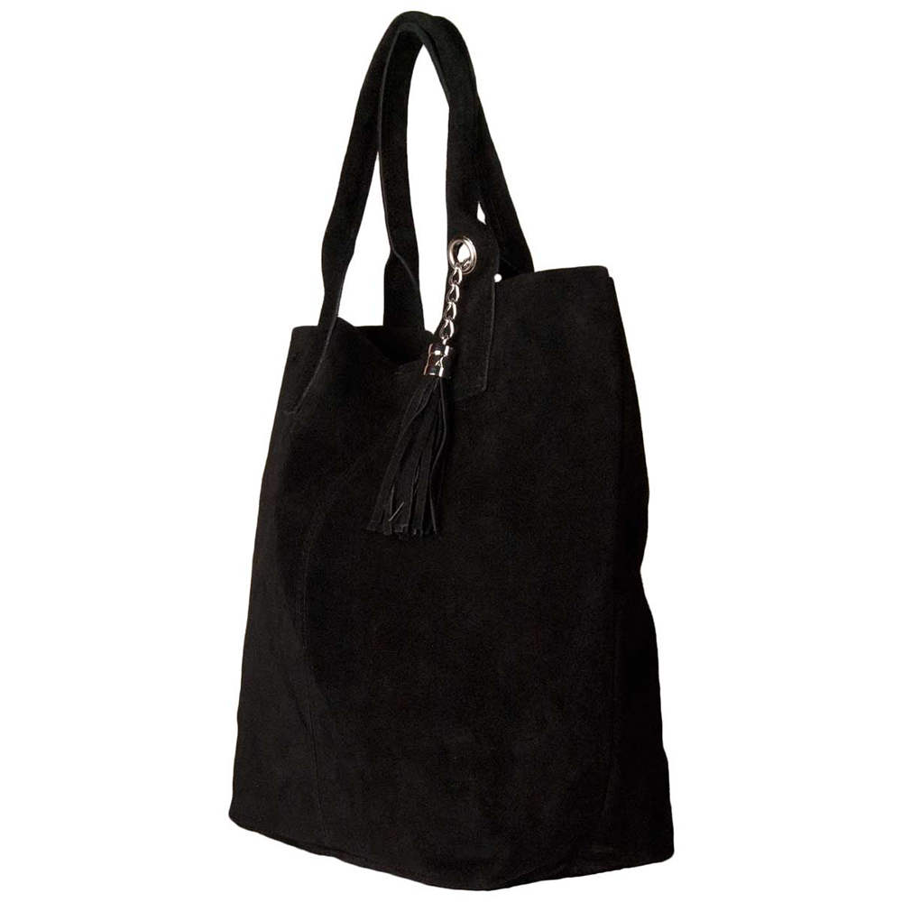 Bolso mujer piel - negro