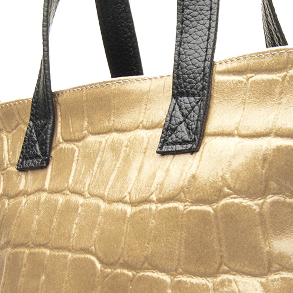 Bolso mujer piel - taupe