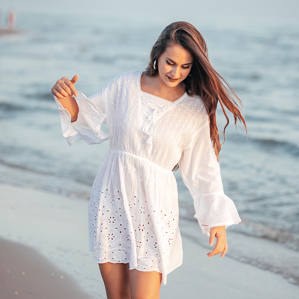 Camisa mujer - blanco