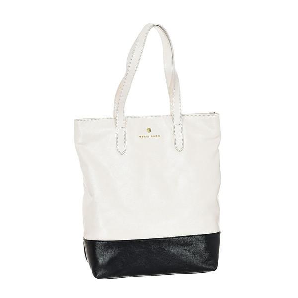 Bolso mujer - beige/negro