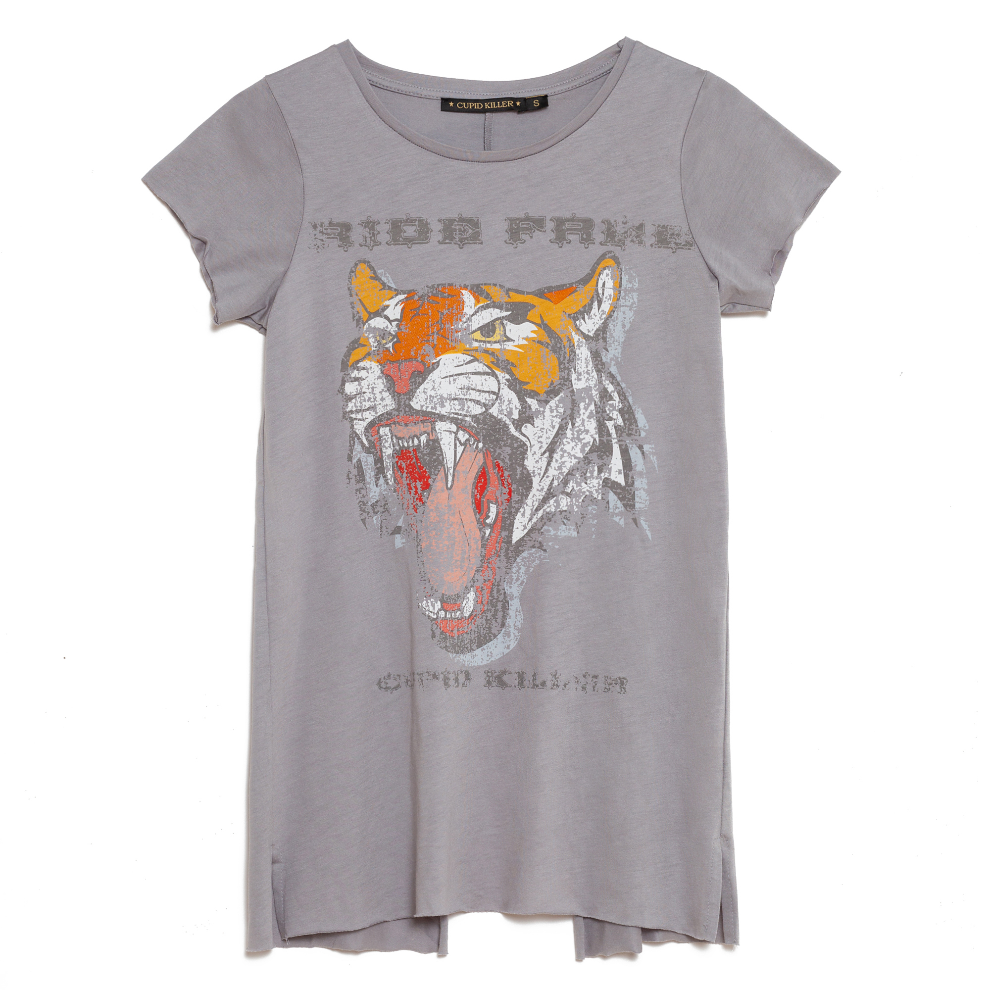 Camiseta mujer - gris