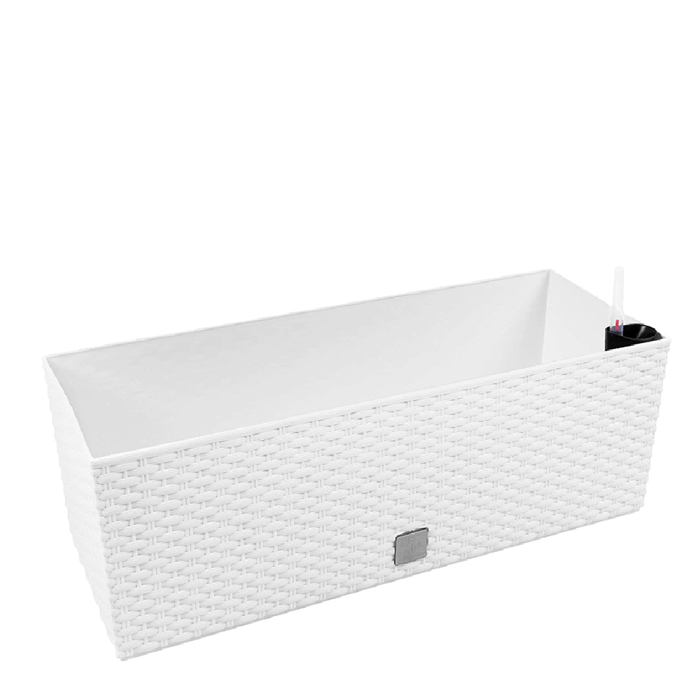Jardinera rectangular 17L - blanco