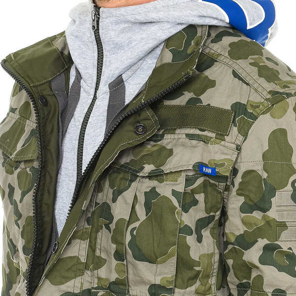 Chaqueta overshirt G-Star MEN - Verde camuflaje