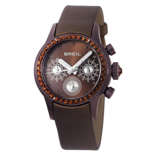 Reloj multifunción piel mujer - marrón