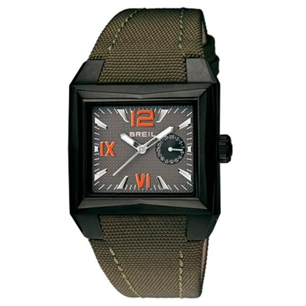 Reloj analógico tela hombre - verde