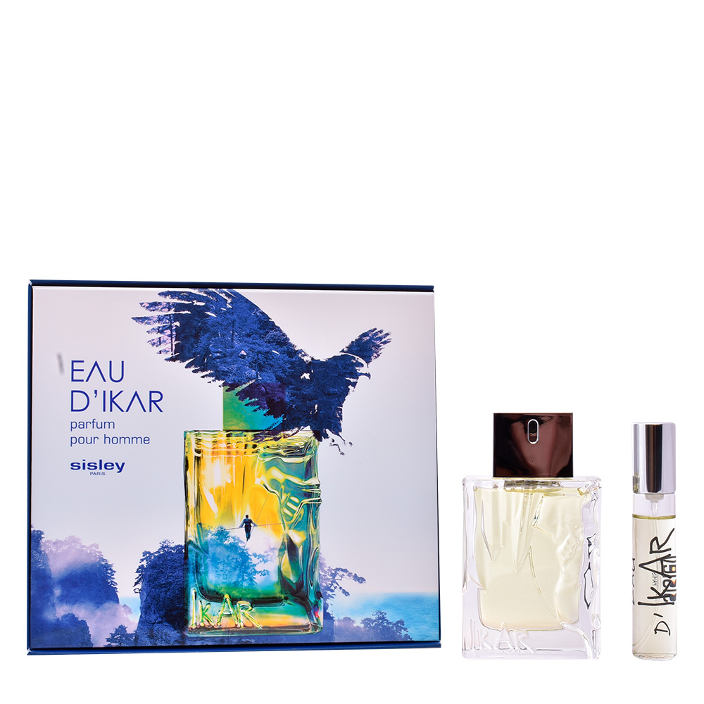 SET 2pz 50ml EDT Eau d'ikar mujer + 10ml EDT miniatura