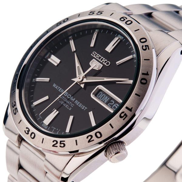 Reloj analógico acero - armys/negro