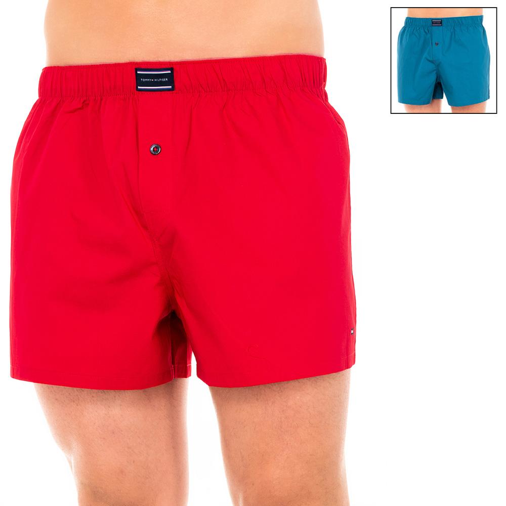 PACK 2 Bóxers hombre - rojo/azul marino