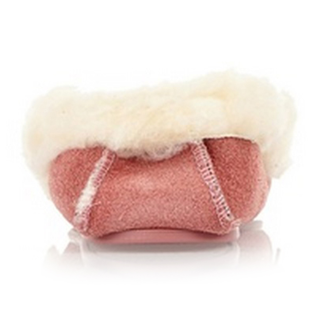 Mocasín piel mujer - rosa