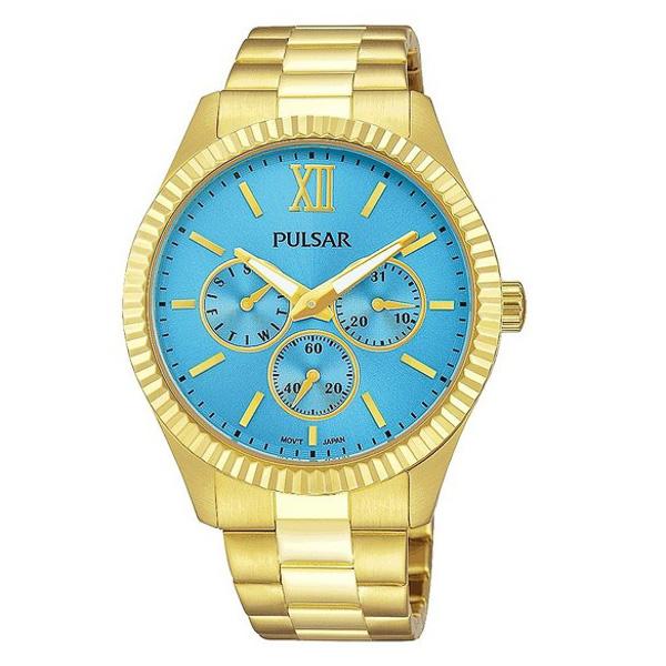 Reloj analógico acero mujer - dorado