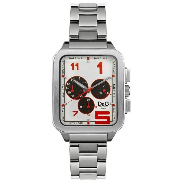 Reloj acero hombre - plateado