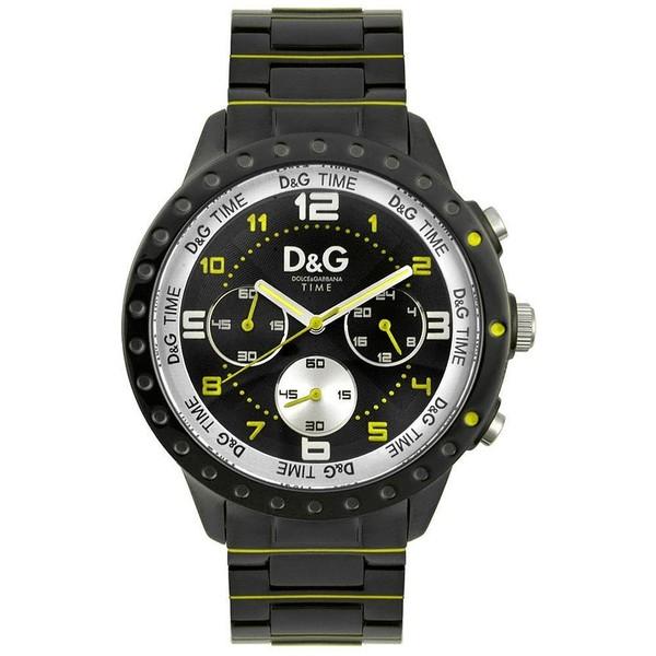 Reloj acero hombre cronómetro - negro