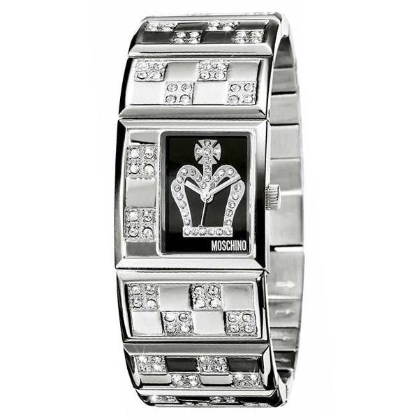 MOSCHINO - Reloj mujer analógico acero - acero/negro
