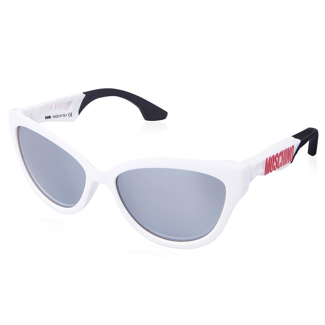 57 Gafas Calibre Mujer Sol Acetato De Blanco nOwP0k