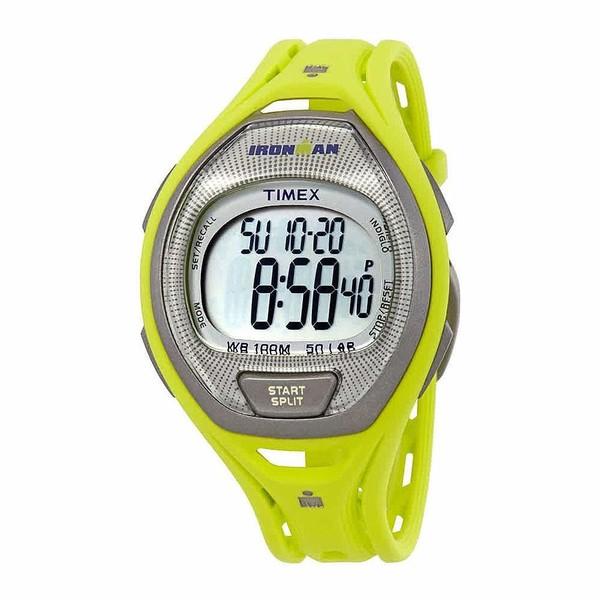 Reloj digital caucho unisex - amarillo