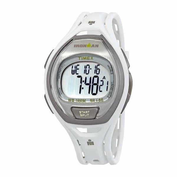 Reloj digital caucho unisex - blanco