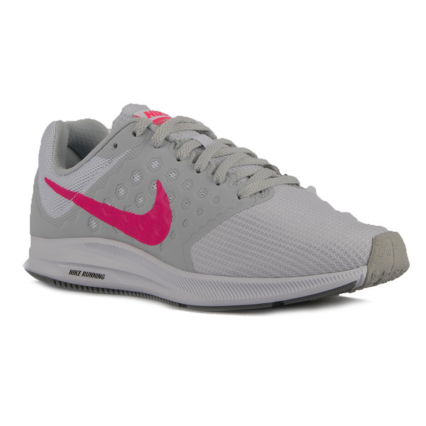 Zapatilla running wmns Downshifter 7 mujer - gris/fucsia