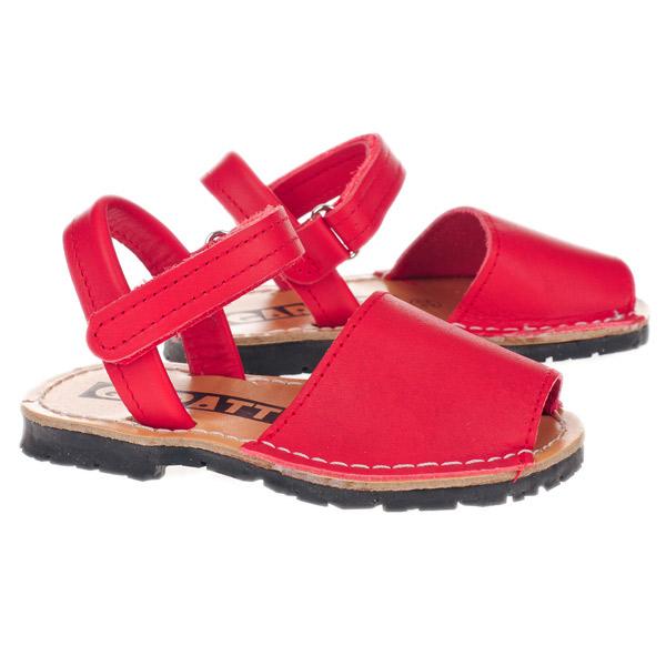 Sandalia Menorquina - rojo